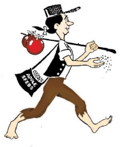 the johnny appleseed approach to life andrea kihlstedt rh andreakihlstedt com johnny appleseed clipart