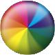 Apple spinning ball