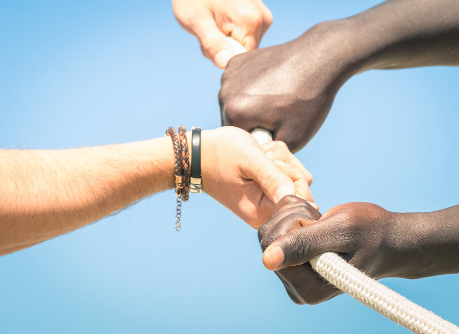 Building a Bridge to End Racism with a Simple 'Hello'