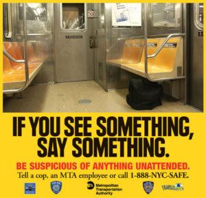See Something, Say Something: Vigilance and Kindness