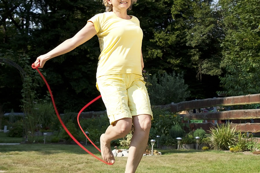 Jumping Rope: Learning Something New Later in Life